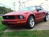 2005 Redfire Metallic Ford Mustang V6 Deluxe Coupe #20722115