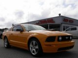2007 Grabber Orange Ford Mustang GT Premium Coupe #20728704