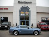 2007 Windveil Blue Metallic Ford Mustang GT Premium Coupe #20726640