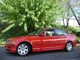 2001 Bright Red BMW 3 Series 325i Sedan #20732500
