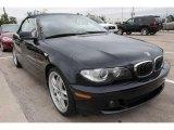 2005 Jet Black BMW 3 Series 330i Convertible #20731547