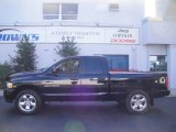 2004 Black Dodge Ram 1500 SLT Quad Cab 4x4 #20720968