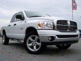 2008 Bright White Dodge Ram 1500 SLT Quad Cab 4x4 #20720412