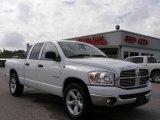 2008 Bright White Dodge Ram 1500 Lone Star Edition Quad Cab #20728733