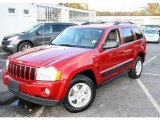 2006 Inferno Red Crystal Pearl Jeep Grand Cherokee Laredo 4x4 #20740202