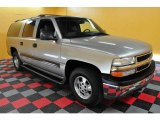 2001 Light Pewter Metallic Chevrolet Suburban 1500 LS 4x4 #20804157
