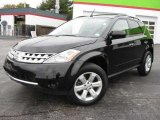 2006 Super Black Nissan Murano S #20805466