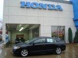2007 Nighthawk Black Pearl Honda Civic EX Sedan #20794186