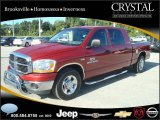 2006 Inferno Red Crystal Pearl Dodge Ram 1500 SLT Mega Cab #20874793
