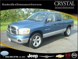 2006 Atlantic Blue Pearl Dodge Ram 1500 SLT Quad Cab #20874772