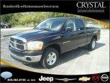 2006 Brilliant Black Crystal Pearl Dodge Ram 1500 SLT Quad Cab #20874811
