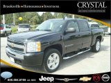 2009 Black Granite Metallic Chevrolet Silverado 1500 LT Crew Cab 4x4 #20874857