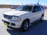 2003 Ceramic White Tri Coat Ford Explorer Limited #2089042
