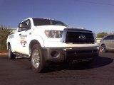 Super White Toyota Tundra in 2010