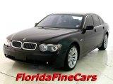 2003 Black Sapphire Metallic BMW 7 Series 745i Sedan #20908525