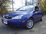 2005 Sonic Blue Metallic Ford Focus ZX3 S Coupe #20909221