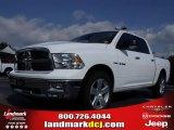 2010 Stone White Dodge Ram 1500 Big Horn Crew Cab #20911692