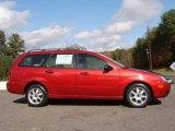 2005 Sangria Red Metallic Ford Focus ZXW SE Wagon #20906304