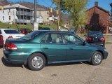 2002 Noble Green Pearl Honda Accord EX V6 Sedan #20918775