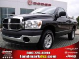 Brilliant Black Crystal Pearl Dodge Ram 1500 in 2008