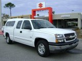 2004 Summit White Chevrolet Silverado 1500 LS Extended Cab #2085997