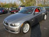 2008 Space Grey Metallic BMW 3 Series 328i Coupe #20987606