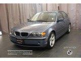 2004 Steel Blue Metallic BMW 3 Series 325i Sedan #20989502