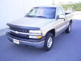 2002 Light Pewter Metallic Chevrolet Silverado 1500 LS Regular Cab 4x4 #21008657