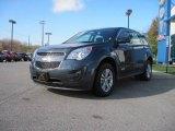 2010 Cyber Gray Metallic Chevrolet Equinox LS #21006873