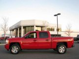 2008 Victory Red Chevrolet Silverado 1500 LT Crew Cab 4x4 #21005239