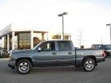 2007 Blue Granite Metallic Chevrolet Silverado 1500 Classic LS Crew Cab 4x4 #21005167
