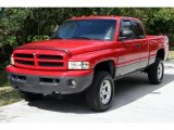 2001 Flame Red Dodge Ram 1500 Sport Club Cab 4x4 #20999587