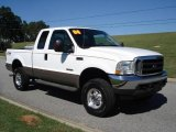 2004 Oxford White Ford F250 Super Duty Lariat SuperCab 4x4 #21003108