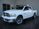 2010 Stone White Dodge Ram 1500 Big Horn Crew Cab #20991034