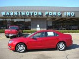 2010 Sangria Red Metallic Ford Fusion S #21001966