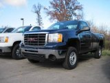 2009 Midnight Blue Metallic GMC Sierra 2500HD Work Truck Regular Cab 4x4 #21006878