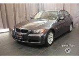 2007 Sparkling Graphite Metallic BMW 3 Series 328xi Sedan #20989484