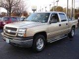 2005 Sandstone Metallic Chevrolet Silverado 1500 LS Crew Cab 4x4 #20987388