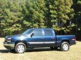 2006 Blue Granite Metallic Chevrolet Silverado 1500 LT Crew Cab 4x4 #20999935