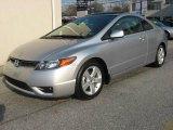 2007 Alabaster Silver Metallic Honda Civic EX Coupe #20987137