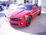 2010 Victory Red Chevrolet Camaro SS Coupe #21008583
