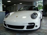 2008 Carrara White Porsche 911 Turbo Cabriolet #208179