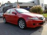 2008 Milano Red Acura TSX Sedan #21062992