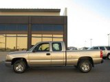 2003 Light Pewter Metallic Chevrolet Silverado 1500 Extended Cab 4x4 #21071680