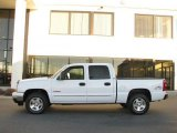 2006 Summit White Chevrolet Silverado 1500 LT Crew Cab 4x4 #21071708