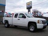 2009 Summit White Chevrolet Silverado 1500 LS Extended Cab 4x4 #21057837