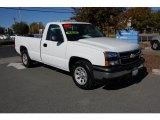 2006 Summit White Chevrolet Silverado 1500 Work Truck Regular Cab #21054191