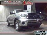 2010 Silver Sky Metallic Toyota Tundra Double Cab 4x4 #21071113
