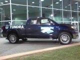 Nautical Blue Metallic Toyota Tundra in 2010