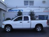 2003 Bright White Dodge Ram 1500 SLT Quad Cab 4x4 #21057245